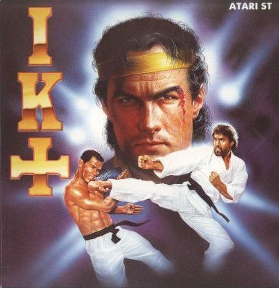 Am I the only one who sees Steven Seagal on the cover of the fantastic IK+ box?