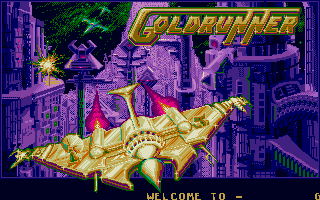 When Sébastien saw the first glimps of Goldrunner, he NEEDED an Atari ST