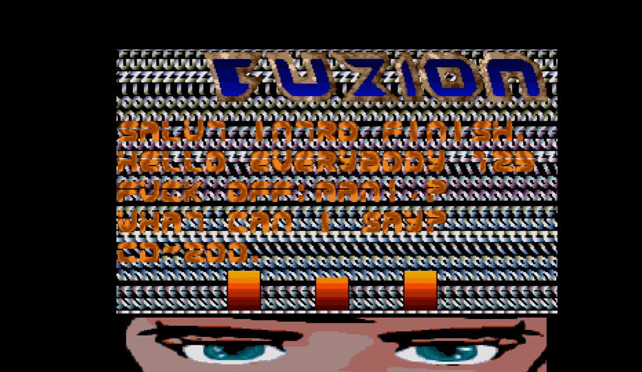 The introscreen to what looks like Fuzion #200. It is not original.