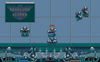 Speedball 2, the best 2 player game on the ST