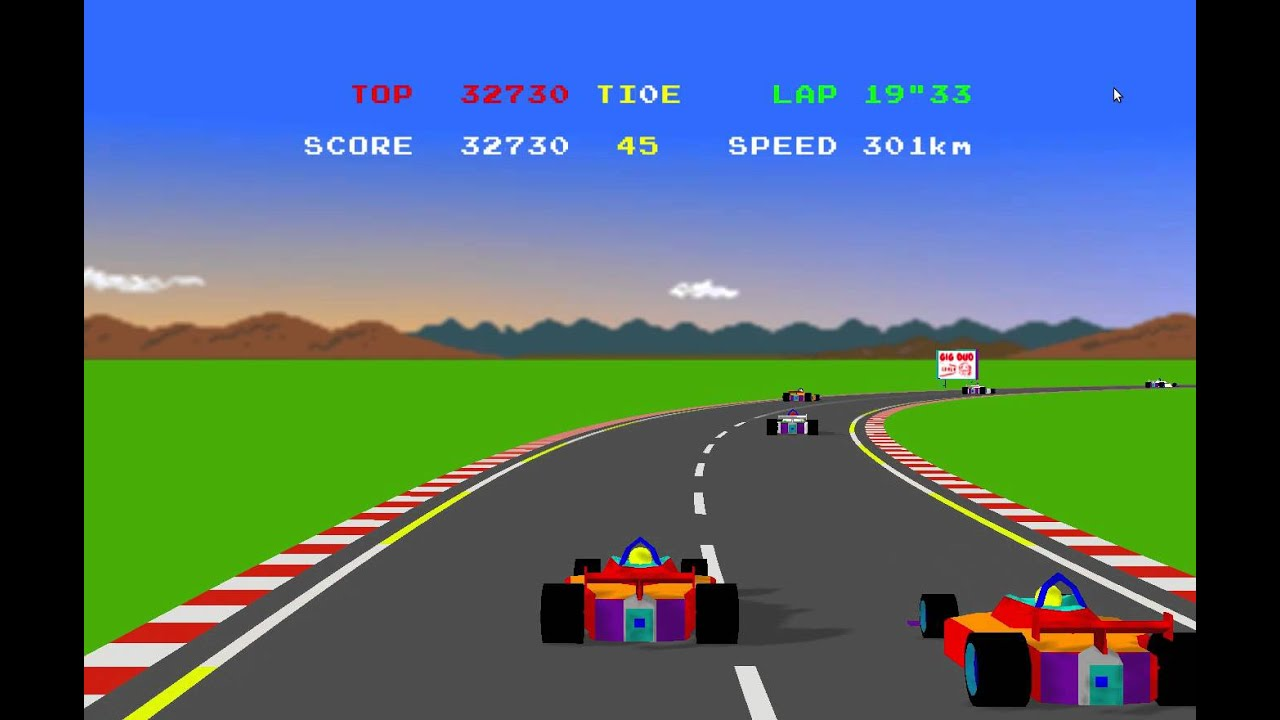 Another one of Jon's projects, Pole Position 3D. How cool is that!