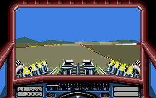 Stunt Car Racer, another amazing Geoff Crammond game!