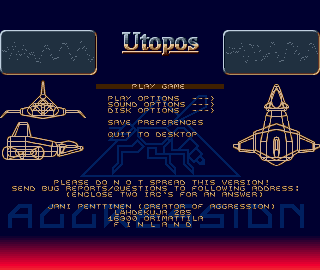 Eventually, Jani sold about 2000 registered versions of Utopos. An amazing accomplishment. It was translated into French, and almost half of the copies went to France.