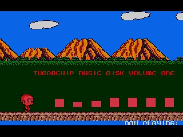 Turbochip music disc. 7 channel music for the Atari STe.