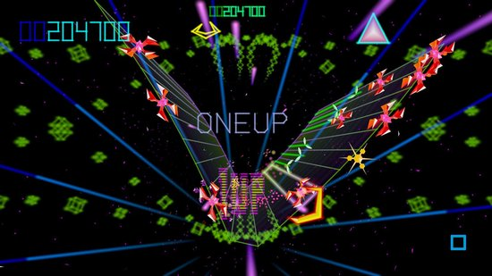 Jamie wrote 2 pieces of music for the game Tempest 4000.