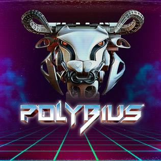 Polybius, another shooter from the Minter stable for which Jamie did some music.