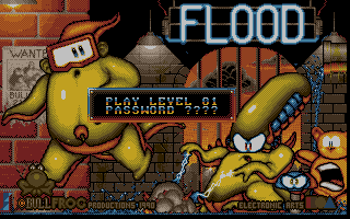 Miles his personal favorite creation, Hoog, was inspired by the game Flood.