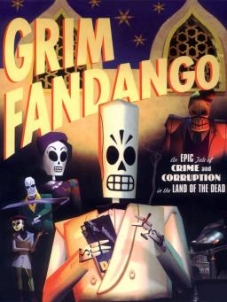 Grim Fandango was one of Patrick's favorite adventure games.