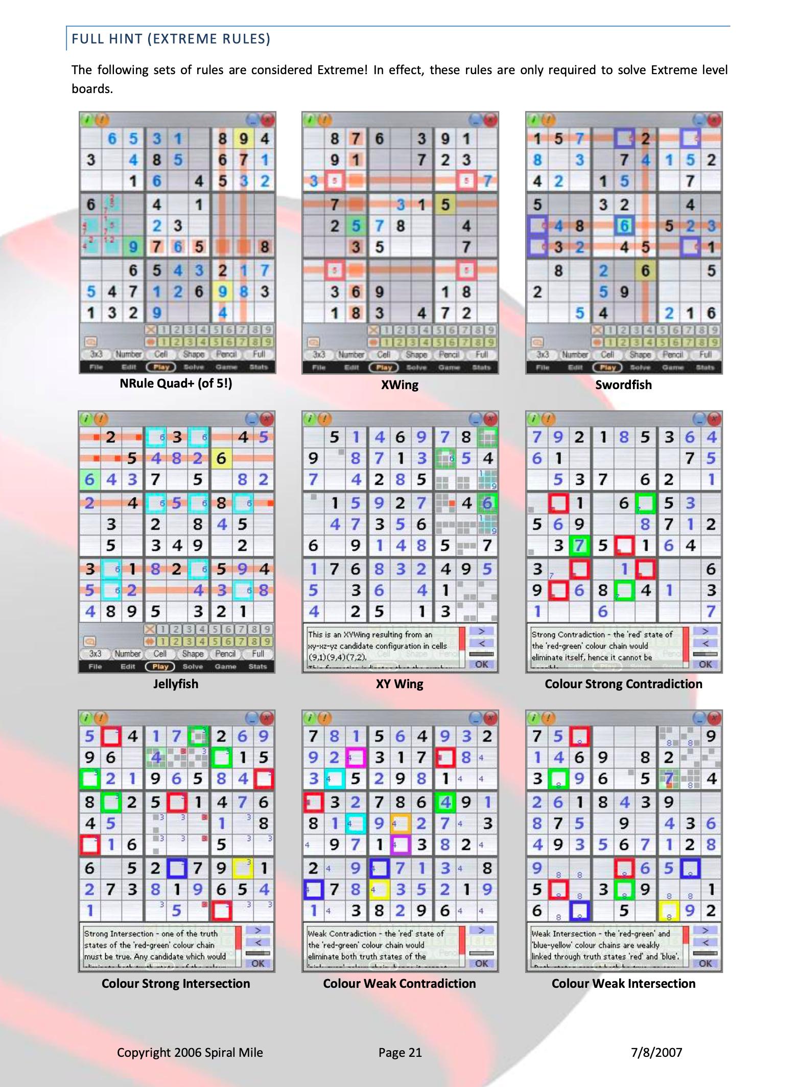 Miles' Sudoki app ended up receiving an award, finalist for 'Best Sudoku App'.