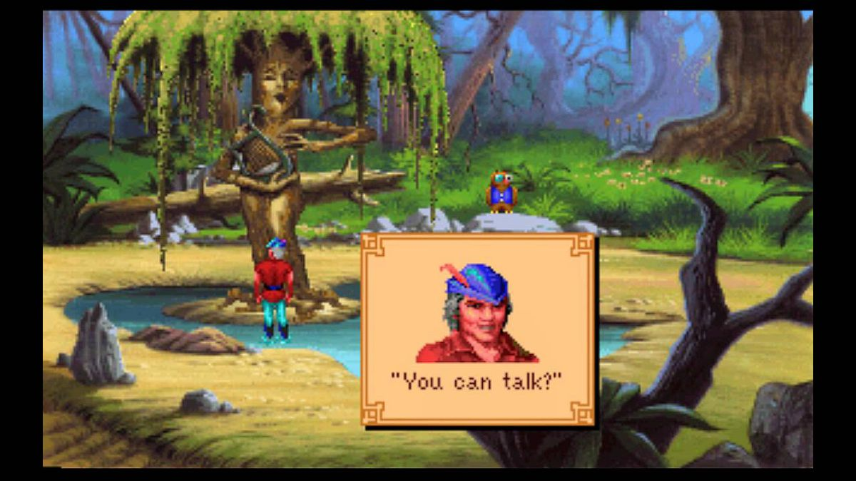 Kings Quest 5 was the first adventure game by Sierra using the SCI(1) engine.