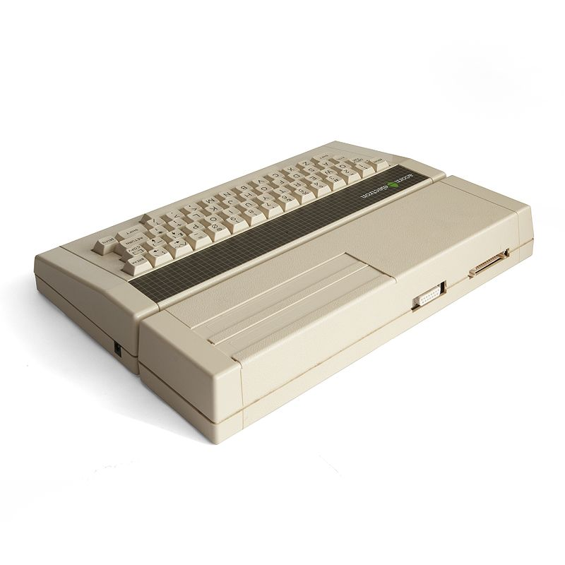His grandfather bought an Acorn Electron, and that is where it all started.