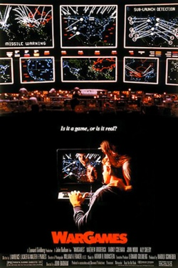 The Matthew Broderick classic movie WarGames was an extra motivation in computer programming for Andrew.