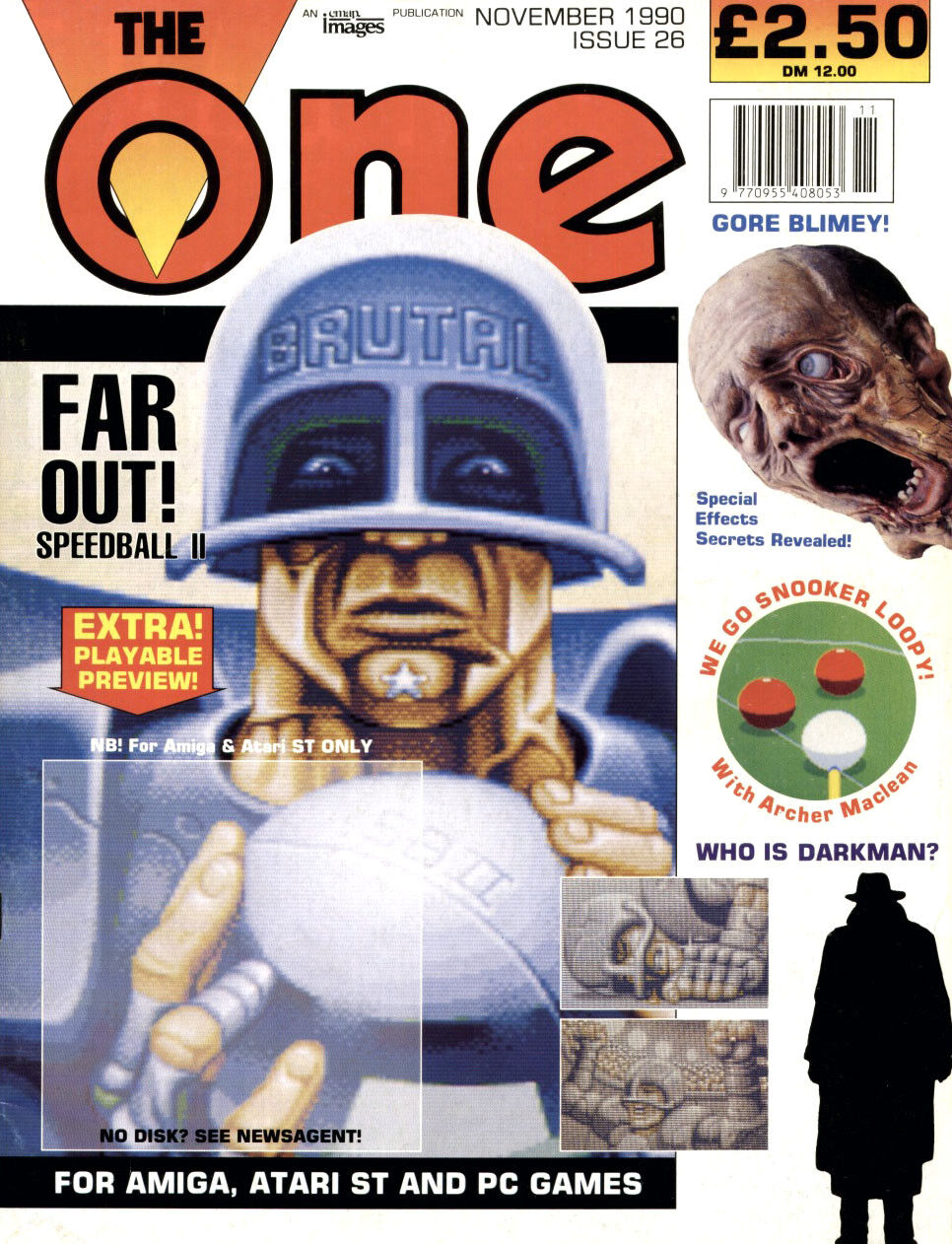 A competition in the magazine The One was the perfect incentive to finish the creation of a complete game.