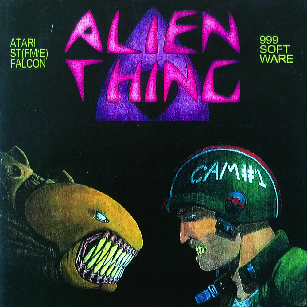 The Alien Thing boxart. A rare sight to behold.
