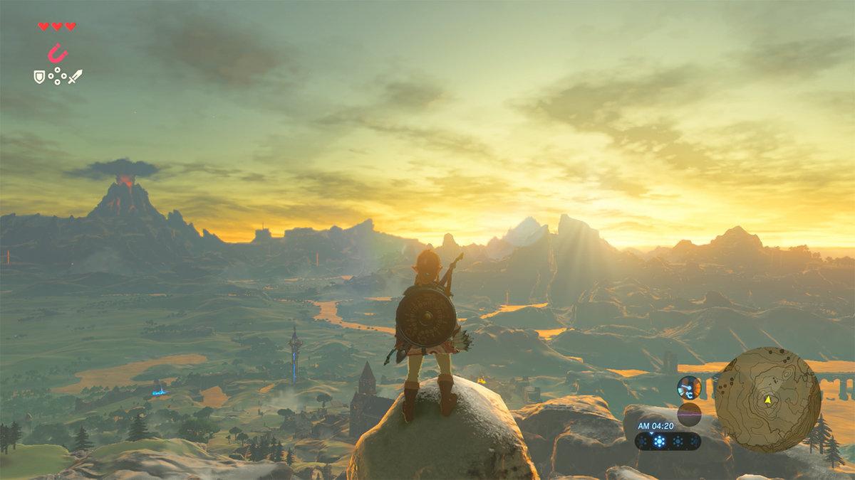 Zelda, Breath of the Wild. A fantastic AAA release.