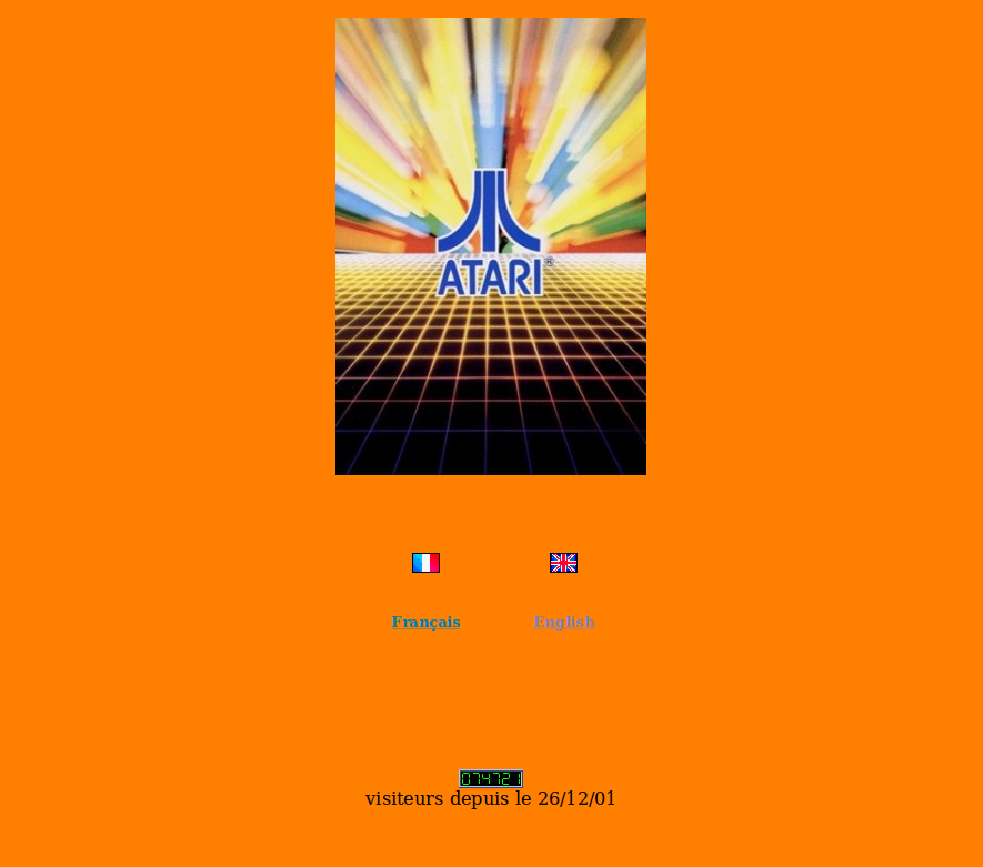 Screenshot of website Atariforce