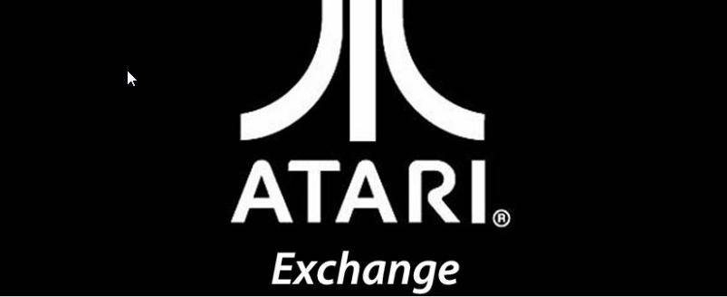 Screenshot of website Atari Exchange