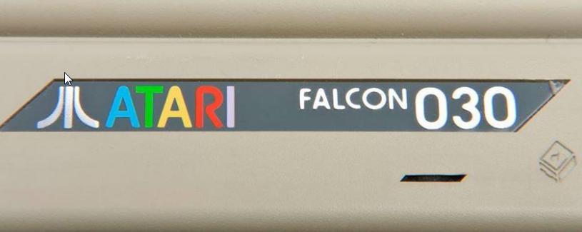 Screenshot of website Atari Falcon 030 User group