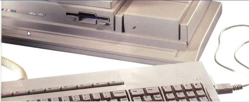 Screenshot of website Atari Mega STe Users