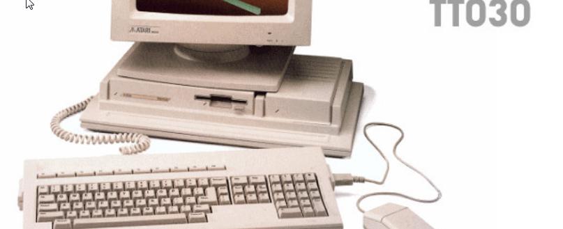 Screenshot of the website Atari TT Users